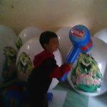 Jual Balon Duduk / Balon Karakter Bentuk samsak cerelac Murah