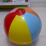 Jual Balon Pantai / Balon Bulat Murah dengan Logo polos 2