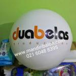 Jual Balon Pantai / Balon Bulat Murah dengan Logo dua belas production