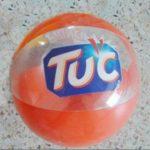 Jual Balon Pantai / Balon Bulat Murah dengan Logo Tuc