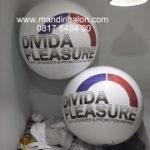 Jual Balon Pantai / Balon Bulat Murah dengan Logo davida pleasure