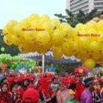 Balon Gas Pelepasan Murah Logo Bkkbn