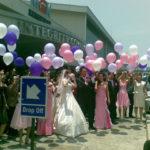 Balon Gas Pelepasan murah untuk prewedding
