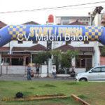 Jual, Produksi dan sewa balon gate murah logo IMI
