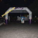 Jual, Produksi dan sewa balon gate logo Rtv