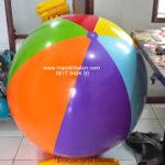 Jual Balon Pantai / Balon Bulat Murah dengan Logo polos