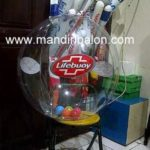 Jual Balon Pantai / Balon Bulat Murah dengan Logo Lifebuoy