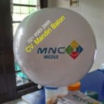 Jual Balon Pantai / Balon Bulat Murah dengan Logo MNC TV