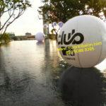 Jual Balon Pantai / Balon Bulat Murah dengan Logo Mnc Club