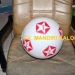 Jual Balon Pantai / Balon Bulat Murah dengan Logo Star Maju