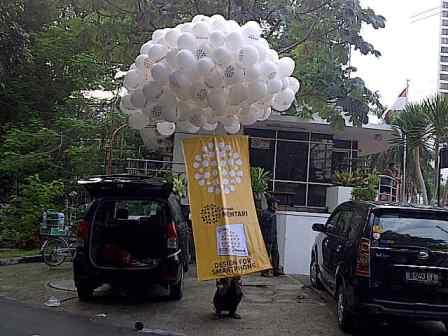 Balon Gas Pelepasan
