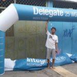 Jual, Produksi dan sewa balon gate logo delegate