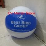 Jual Balon Pantai / Balon Bulat Murah dengan Logo Blue Bird