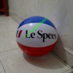 Jual Balon Pantai / Balon Bulat Murah dengan Logo Le Spech