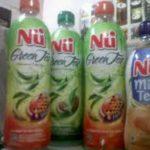 Jual dan Produksi Balon Botol Nu Green Tea Baru