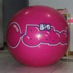 Jual Balon Pantai / Balon Bulat Murah dengan Logo Big babol besar