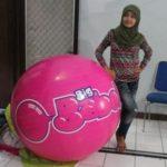 Jual Balon Pantai / Balon Bulat Murah dengan Logo Big Babol 2