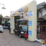 Jual, Produksi dan sewa balon gate murah logo pocar sweat