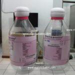 Jual dan produksi balon botol renxamin dari Kimia farma