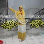 Jual Balon Pantai / Balon Bulat Murah dengan Logo Nyam Nyam