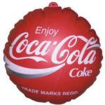 Jual Balon Koin Murah logo Coca Cola