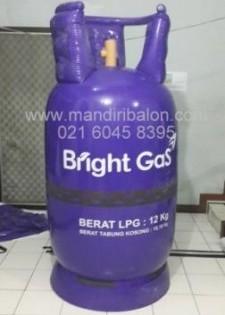 Jual Balon Duduk / Balon Karakter Bentuk Tabung Gas Bright Gas Murah