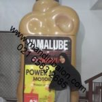 Jual dan produksi balon botol karakter botol oli Yamalube