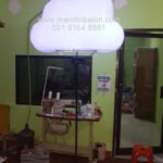 Balon Light Bentuk Awan