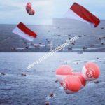 Balon Angkat Bendera