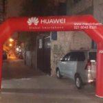 Jual, sewa dan produksi Gate Balon Huawei Murah