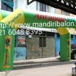 Jual, Produksi dan sewa balon gate logo antangin