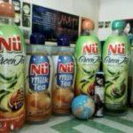 Jual dan Produksi Balon Botol NU Green Tea indoor