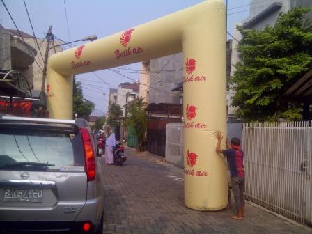 Balon Gate Event Bali