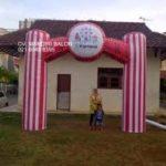 Jual, Produksi dan sewa balon gate murah logo Carnival 3