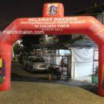 Jual, Produksi dan sewa balon gate murah logo jakarta night market