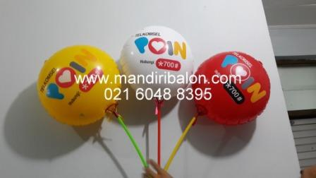 Balon coin telkomsel