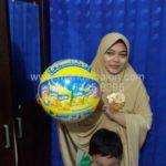 Jual Balon Pantai / Balon Bulat Murah dengan Logo Fresh Up Nutrifood