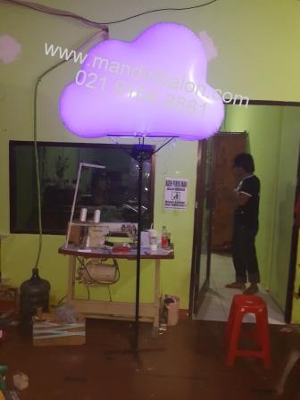 Balon Lighted Bentuk Awan