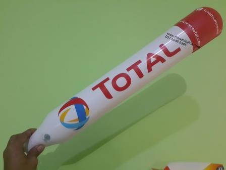 Balon Tepuk Logo Total 40.000 pcs