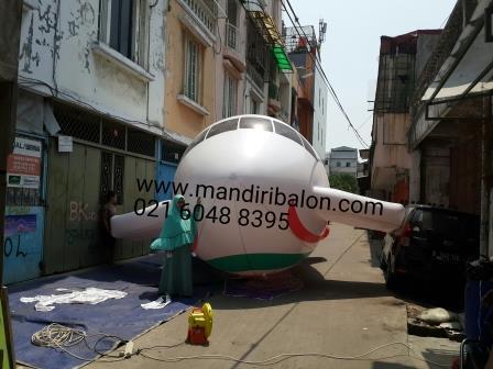 Jual Balon Bentuk Pesawat Harga Murah