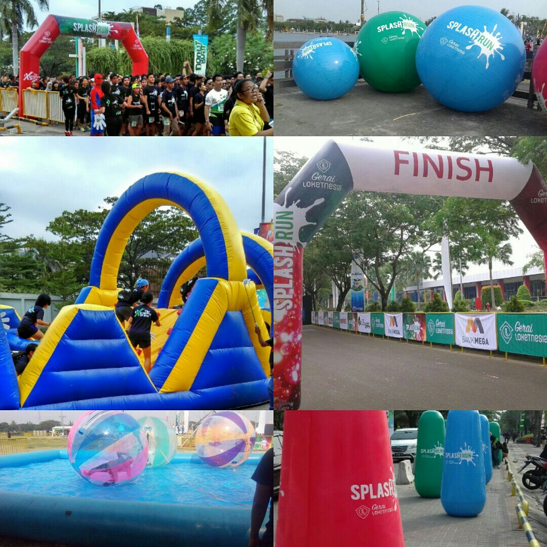 Balon Splash Run 2016