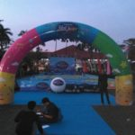 Jual dan Produksi Balon Gate Indonesia idol junior