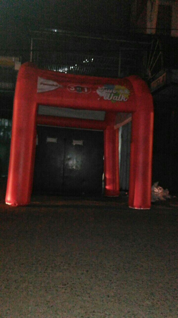 Jual dan produksi inflatable tent panadol harga murah