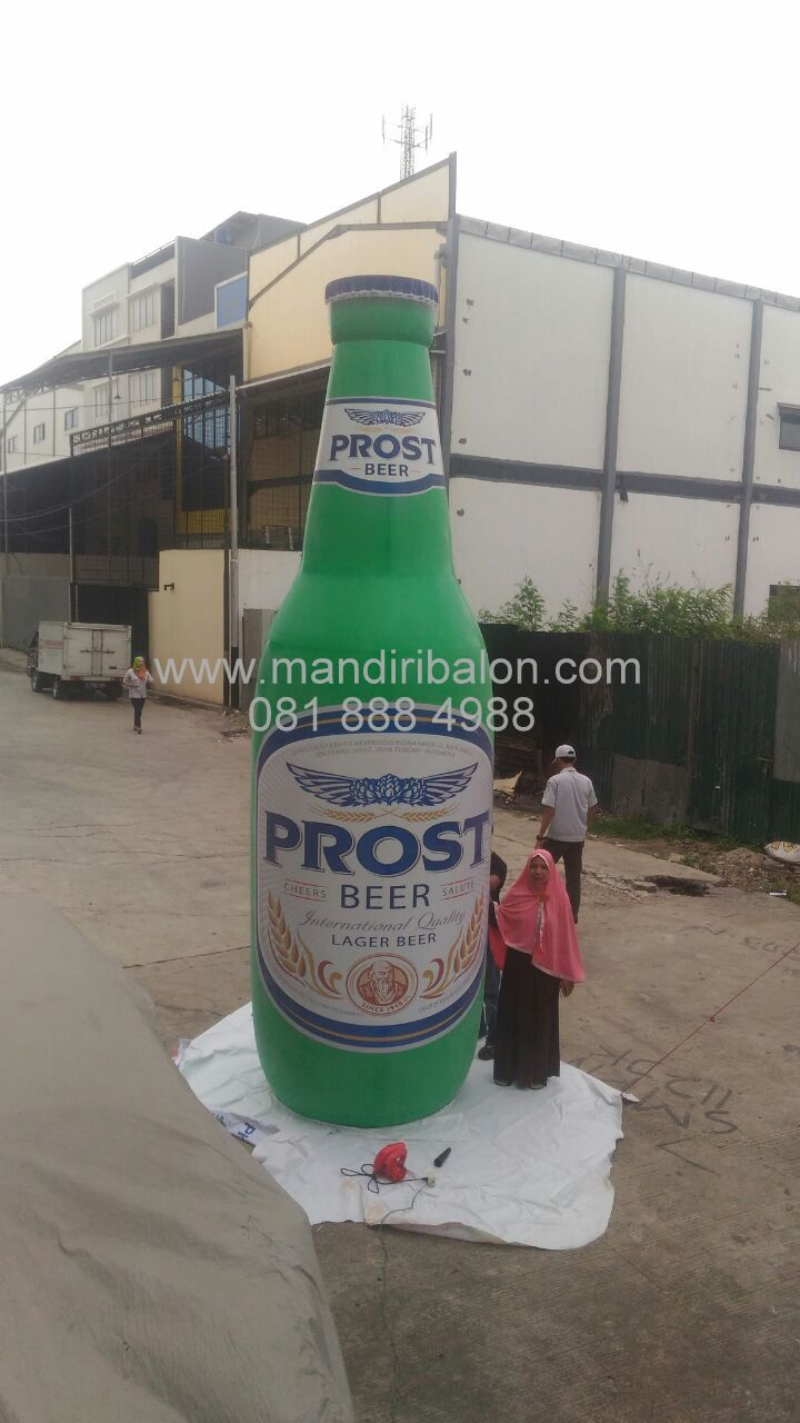 Balon Botol Prost Beer 5 Unit