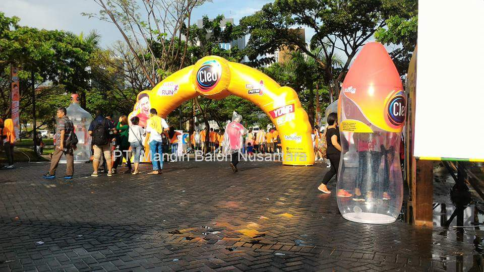 Balon Cleo Smart Run Surabaya